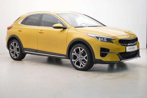 KIA Xceed 1,4 TGDI GPF First Yellow bei Auto Günther in